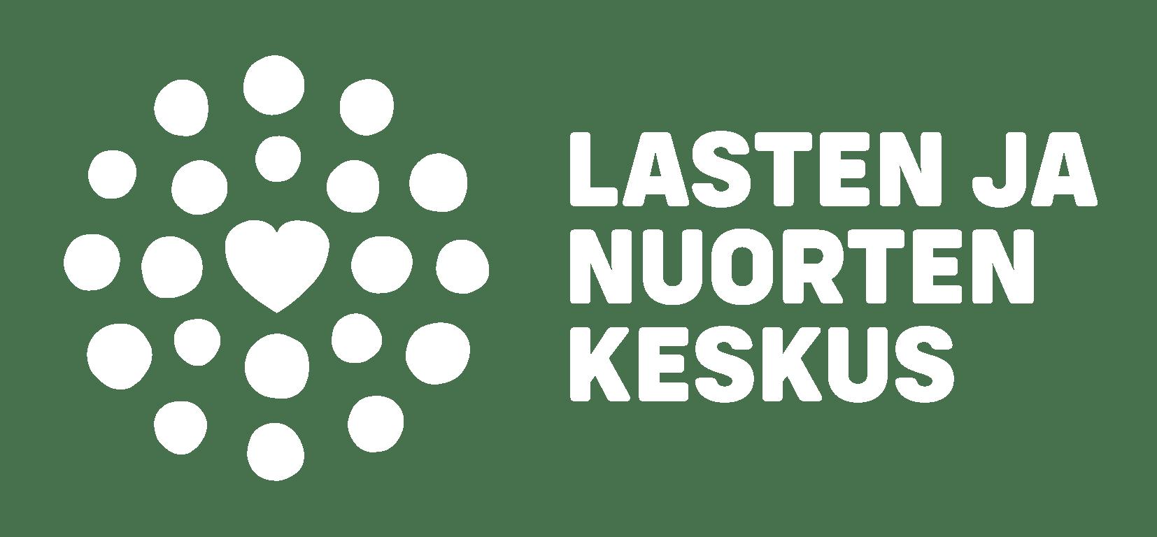 Lasten ja nuorten keskuksen logo.