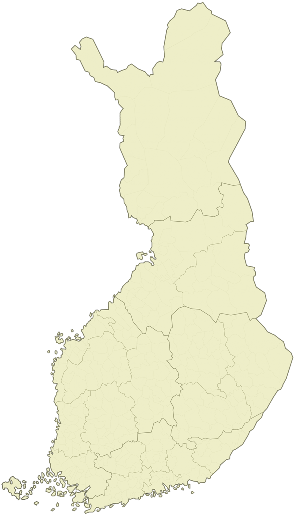 Suomen kartta.